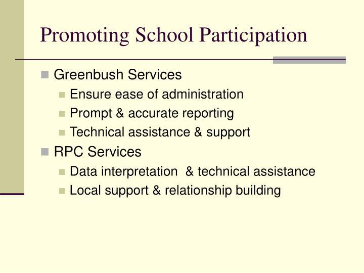 Promoting School Participation