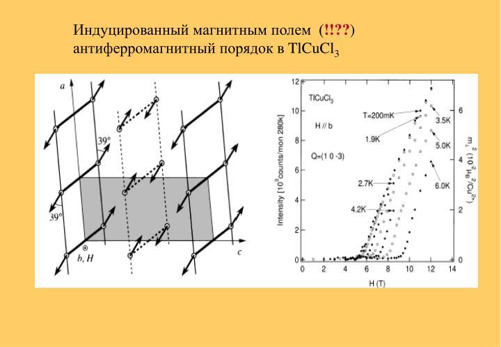 Индуцированный магнитным полем  (