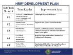 hrr 2 development plan