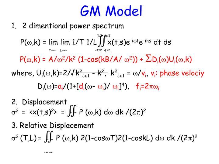 GM Model