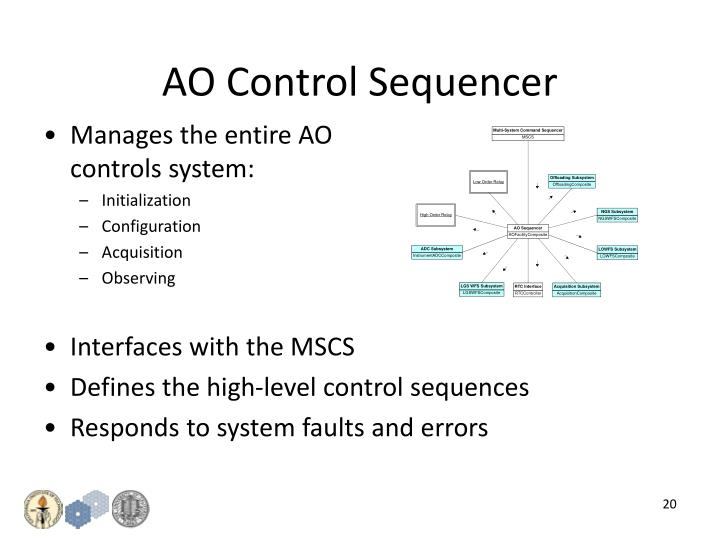 AO Control Sequencer