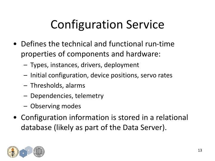 Configuration Service