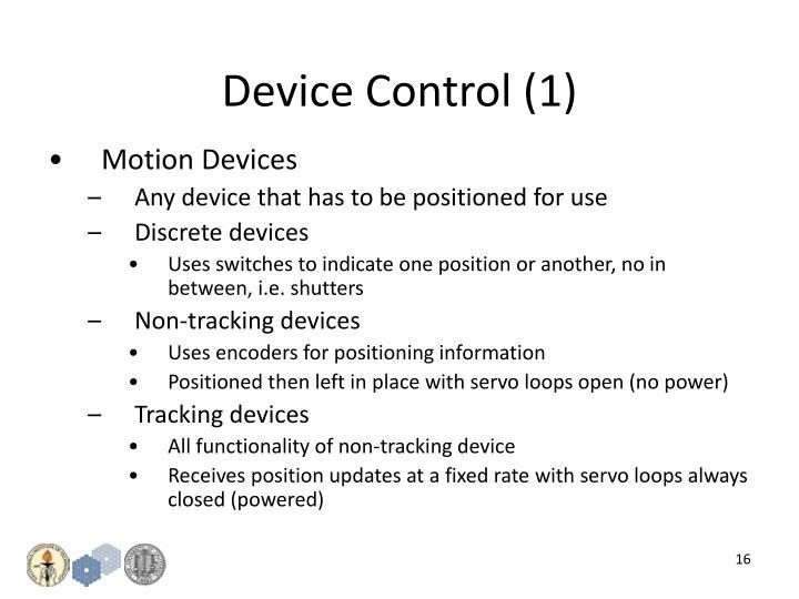 Device Control (1)