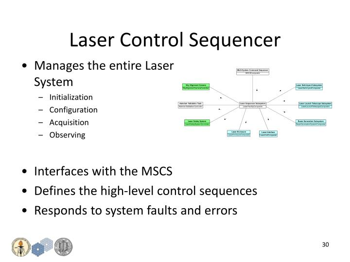 Laser Control Sequencer