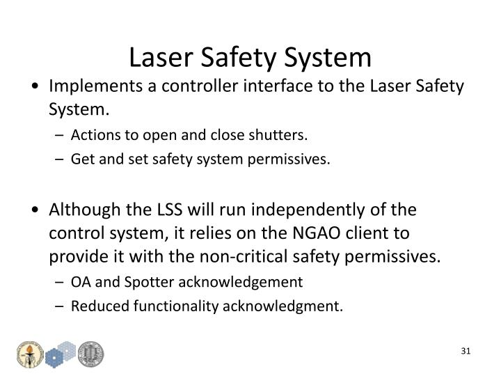 Laser Safety System