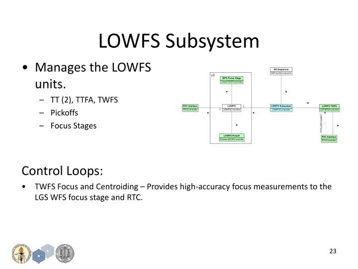 LOWFS Subsystem