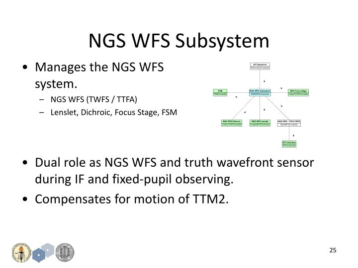 NGS WFS Subsystem