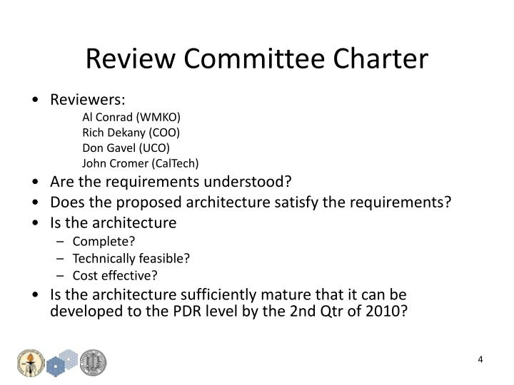 Review Committee Charter