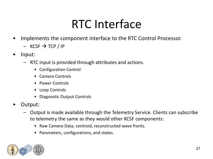 RTC Interface