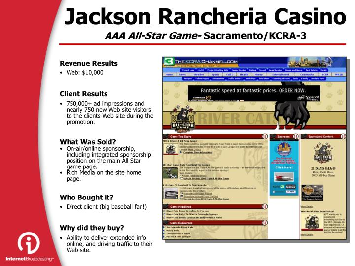 Jackson Rancheria Casino