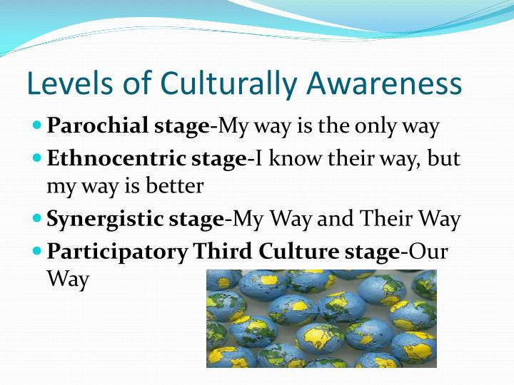 Levels of Culturally Awareness