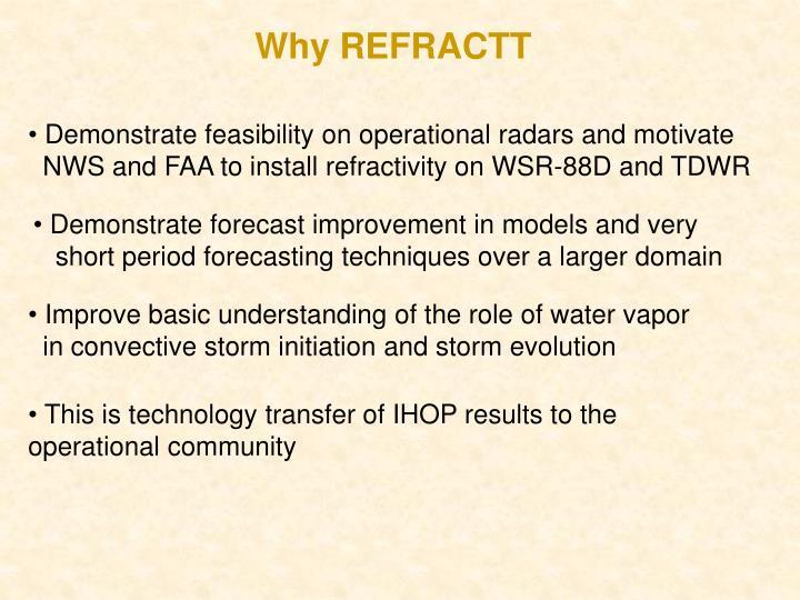 Why REFRACTT