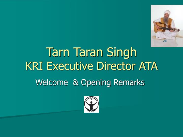 Tarn Taran Singh