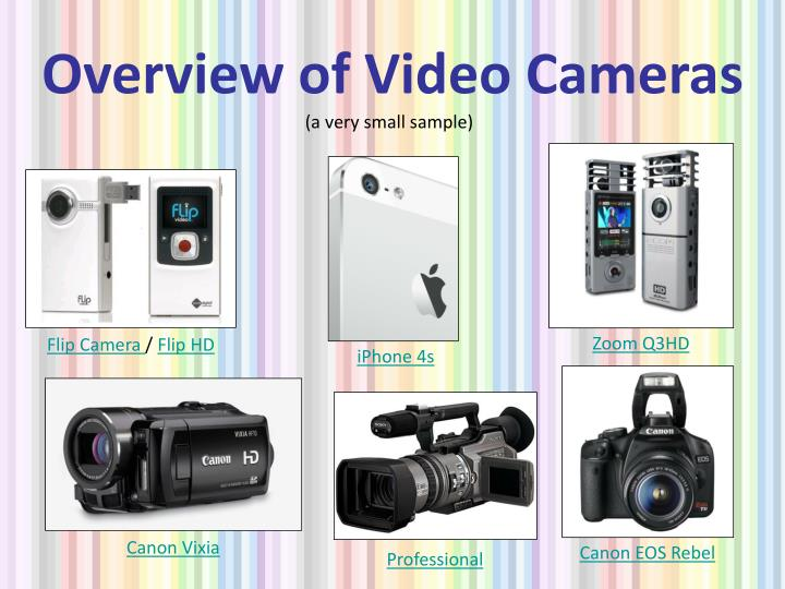Overview of Video Cameras