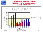 aac for sps collider lear 1987 91 to a single client lear 1992 96