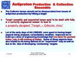 antiproton production collection ensemble
