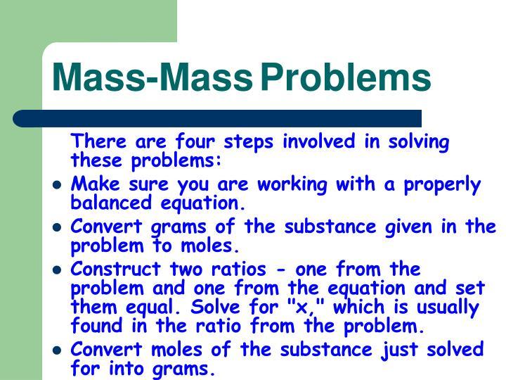 Mass-Mass