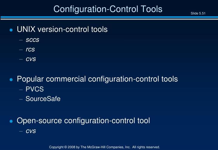 Configuration-Control Tools