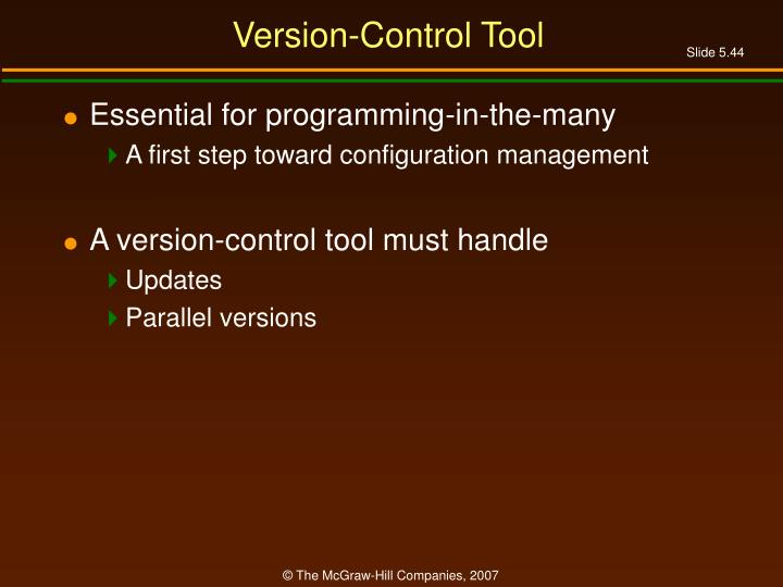 Version-Control Tool