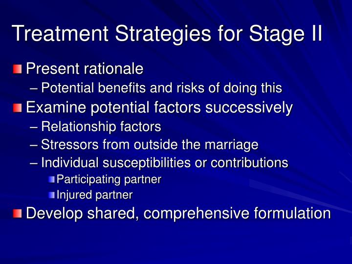 Treatment Strategies for Stage II