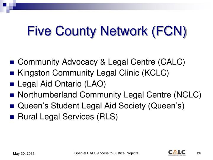Five County Network (FCN)