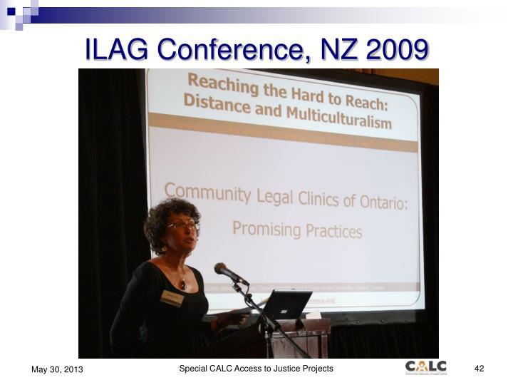 ILAG Conference, NZ 2009