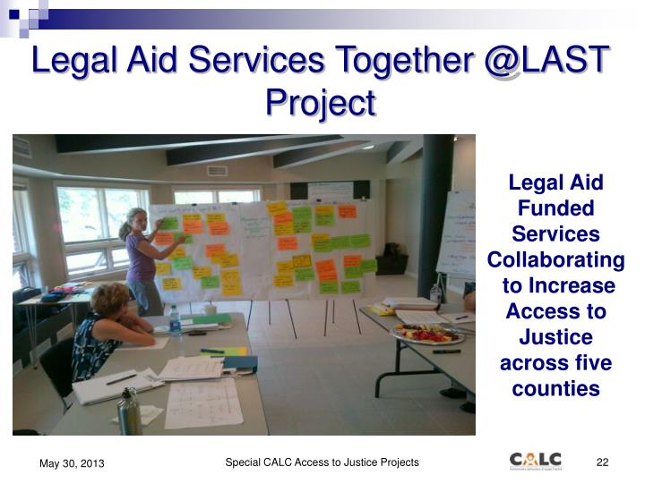 Legal Aid Services Together @LAST Project
