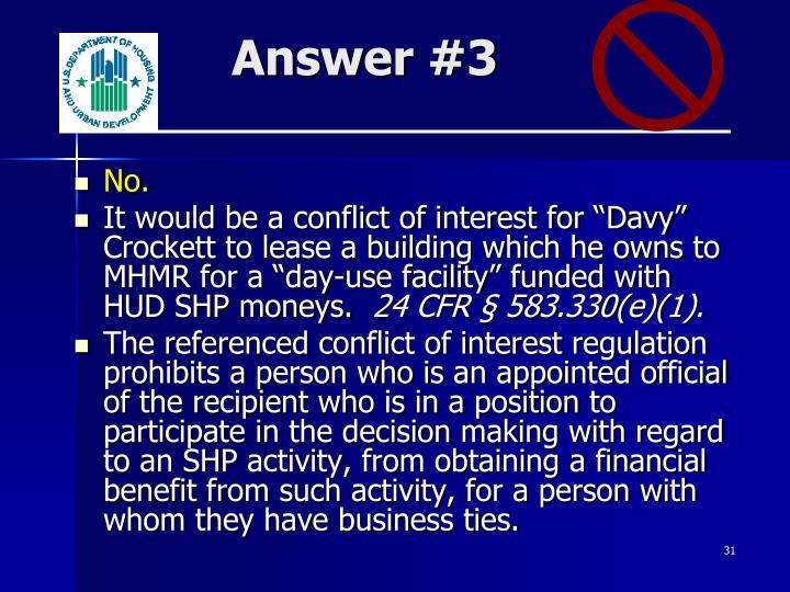 Answer #3