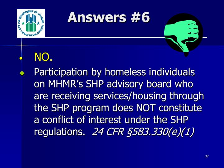 Answers #6