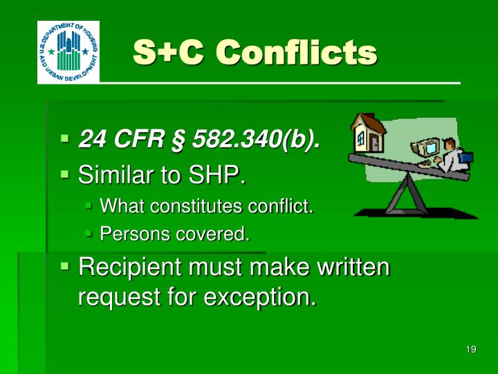 S+C Conflicts