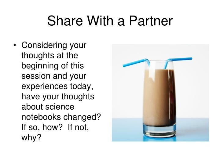 Share With a Partner