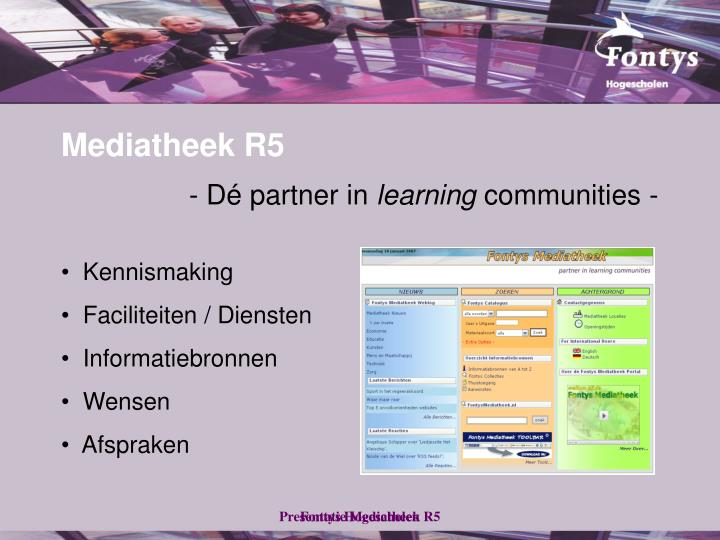 Mediatheek r5