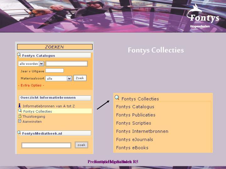 Fontys Collecties