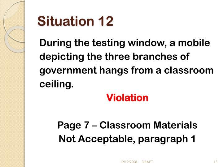 Situation 12