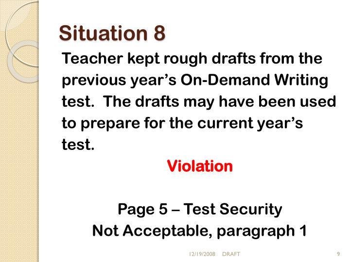 Situation 8