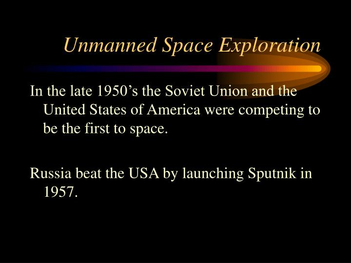 unmanned space exploration - photo #3