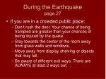 during the earthquake page 27