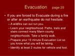 evacuation page 20