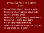 preparing yourself home page 131