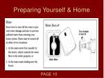 preparing yourself home3