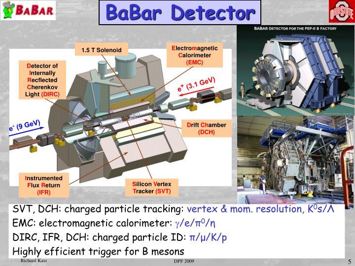 BaBar Detector