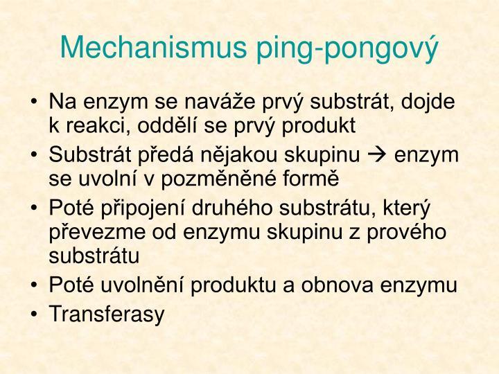 Mechanismus ping-pongový