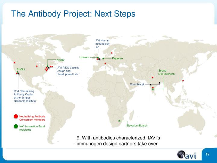 The Antibody Project: Next Steps