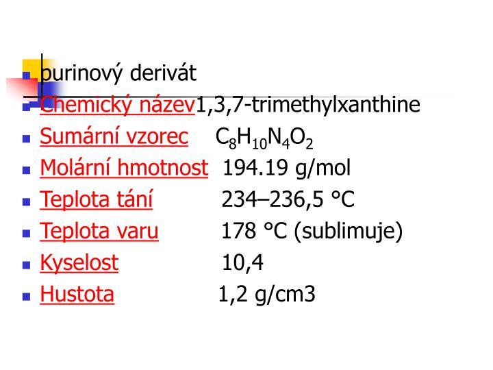 purinový derivát