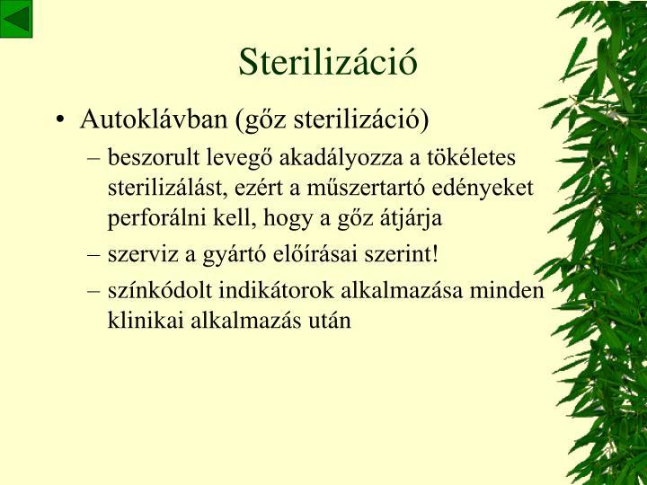 Sterilizáció