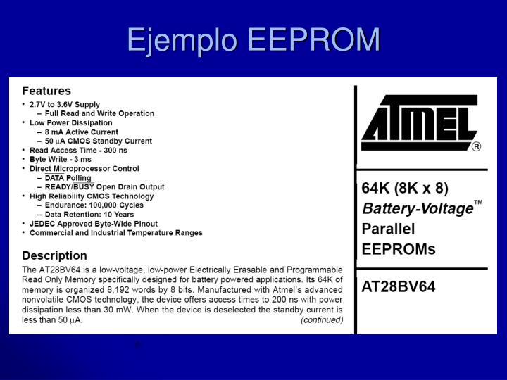 Ejemplo EEPROM