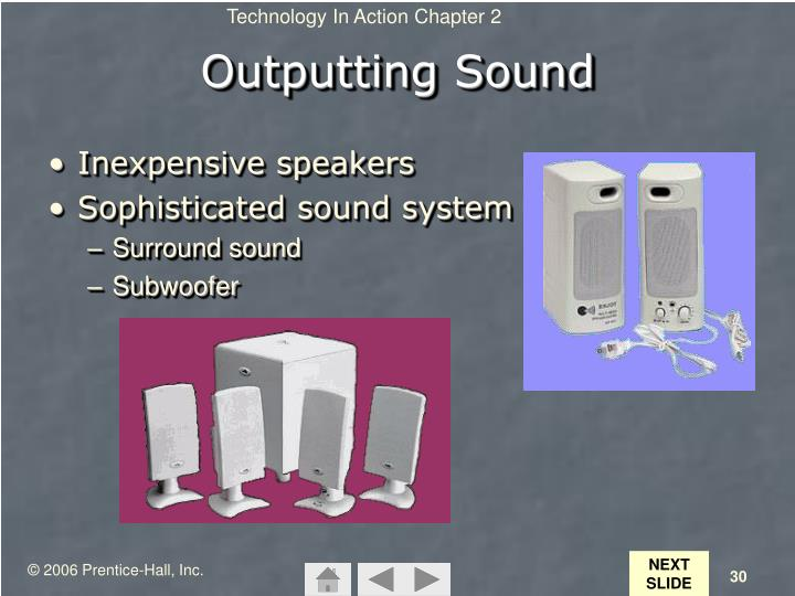 Outputting Sound