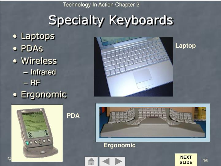 Specialty Keyboards