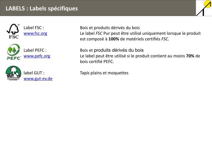 Label FSC :