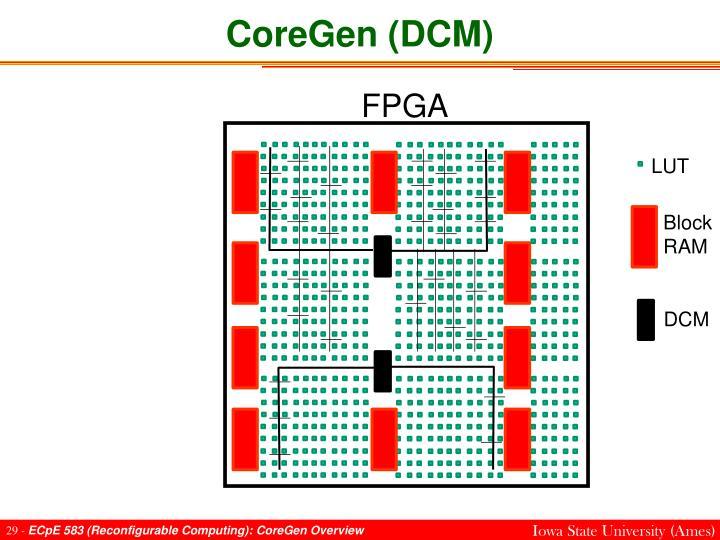 CoreGen (DCM)